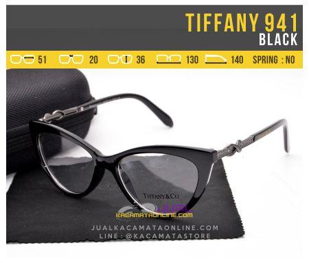 Harha Kacamata Wanita Tiffany 941 Black