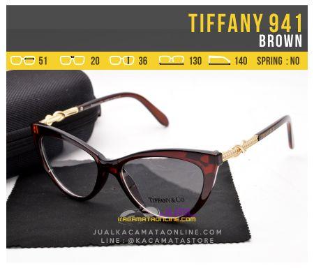 Model Kacamata Wanita Tiffany 941 Brown