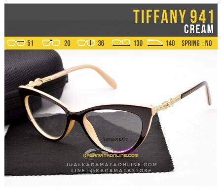 Jual Kacamata Wanita Tiffany 941 Cream