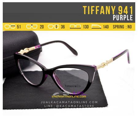 Frame Kacamata Wanita Tiffany 941 Purple