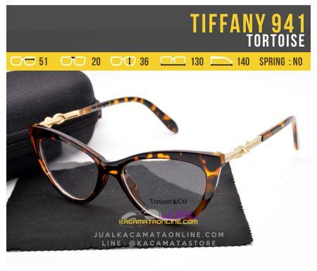 Frame Kacamata Wanita Tiffany 941 Tortoise