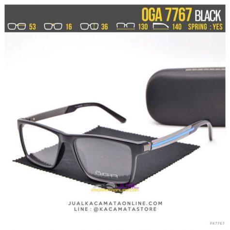 Model Kacamata Baca Terbaru Oga 7767 Black