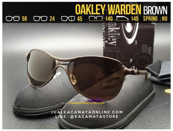 gambar Kacamata Pria Terbaru Oakley Warden Brown