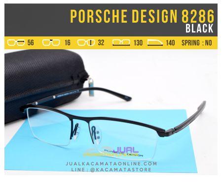 Model Kacamata Pria Terbaru Porsche Design 8286 Black