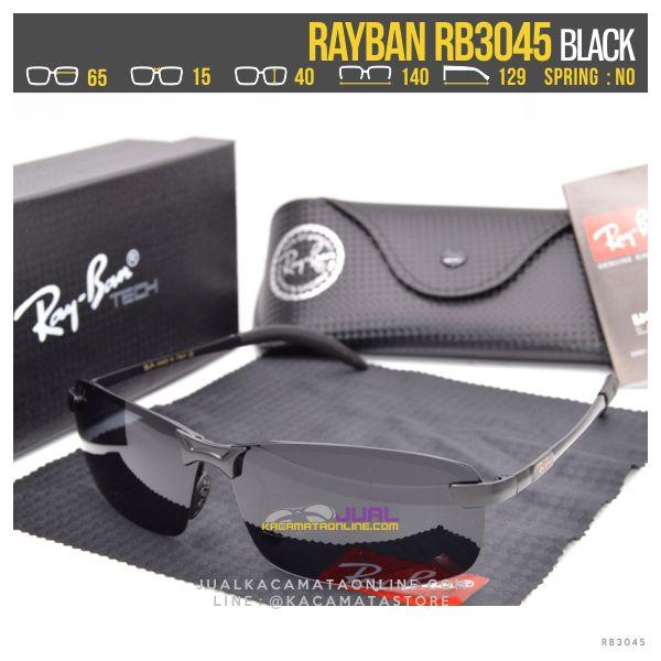 Gambar Kacamata Rayban Terbaru Rb3045 Black