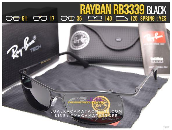 Model Kacamata Rayban Terbaru Rb3339 Black
