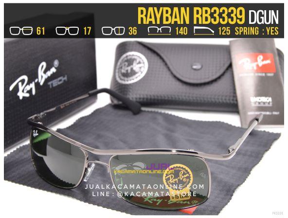 Gambar Kacamata Rayban Terbaru Rb3339 Dgun