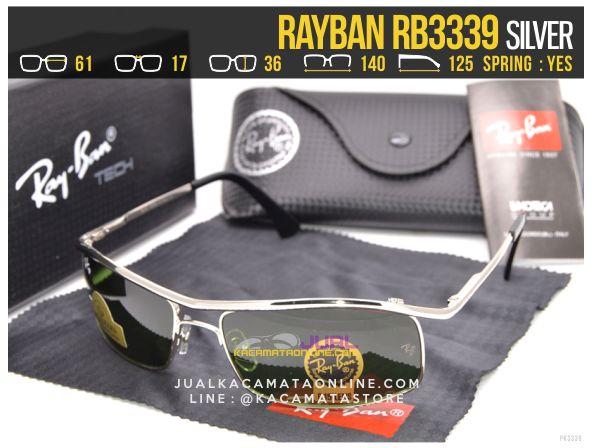 Jual Kacamata Rayban Terbaru Rb3339 Silver