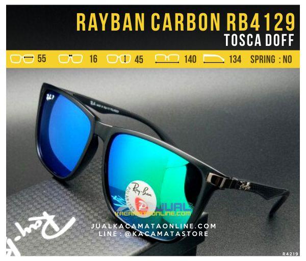 Gambar Kacamata Rayban Terbaru RB4129 Tosca Doff