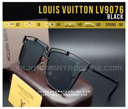 Trend Kacamata Terbaru 2017 Louis Vuitton LV9076 Black