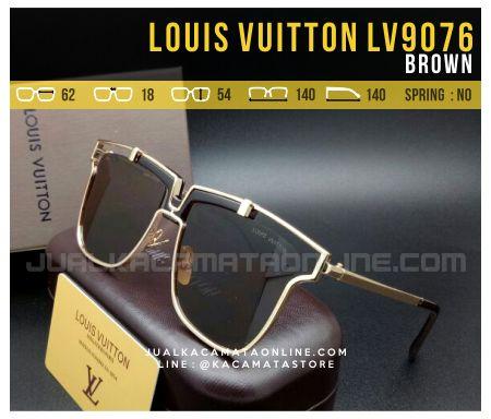Jual Kacamata Terbaru 2017 Louis Vuitton LV9076 Brown