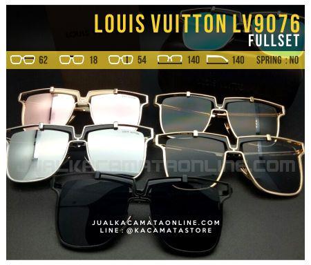 Gambar Kacamata Terbaru 2017 Louis Vuitton LV9076 Kacamata Murah
