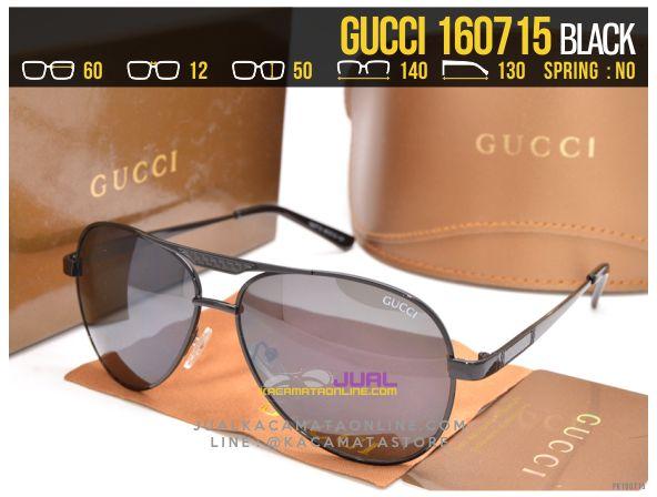 Gambar Kacamata Cewek Gucci 160715 Black
