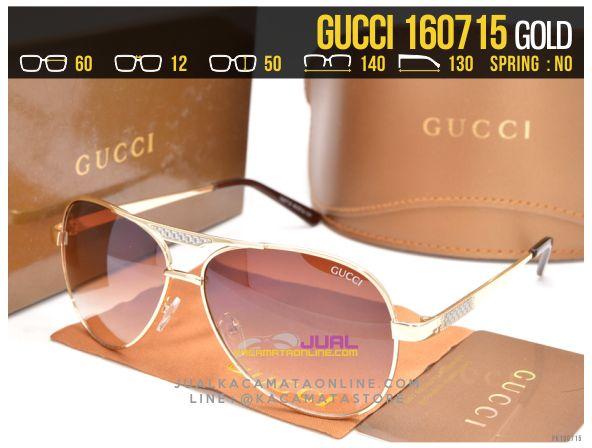 Jual Kacamata Cewek Gucci 160715 Gold
