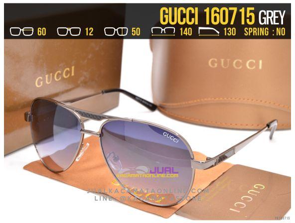 Grosir Kacamata Cewek Gucci 160715 Grey