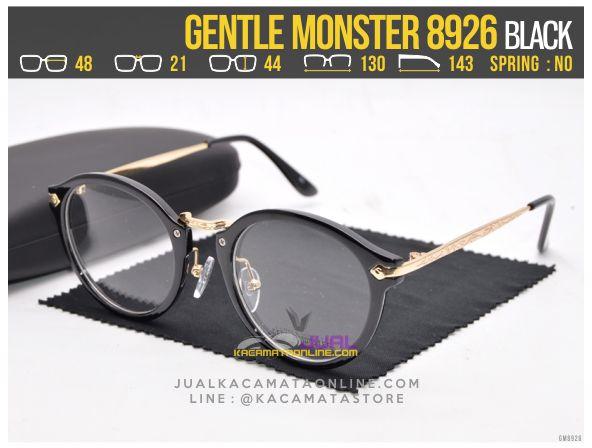 Harga Kacamata Minus Murah Gentle Monster 8926 Black