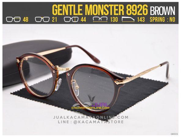 Model Kacamata Minus Murah Gentle Monster 8926 Brown