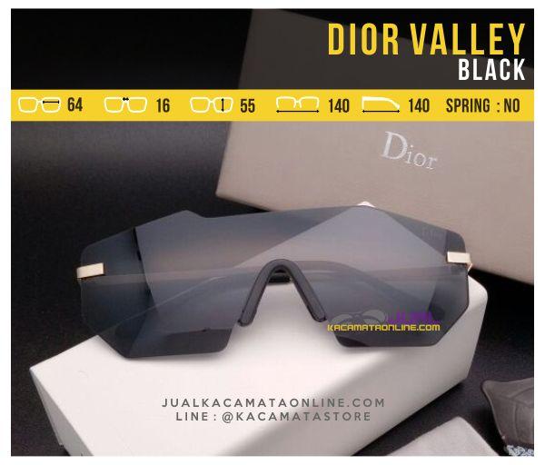 Model Kacamata Murah Dior Valley Black