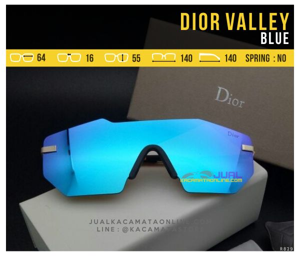 Jual Kacamata Murah Dior Valley Blue