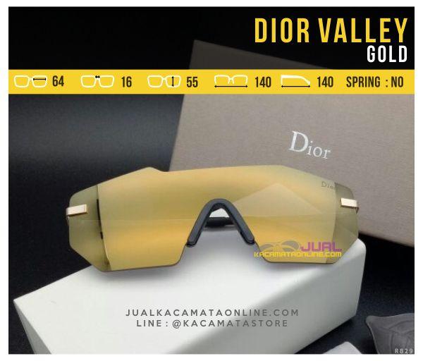 Model Kacamata Murah Dior Valley Gold