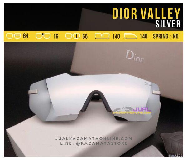 Trend Kacamata Murah Dior Valley Silver