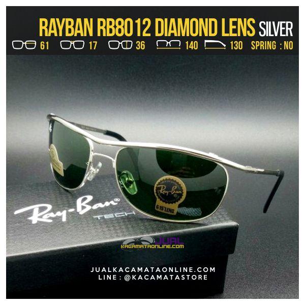 Model Kacamata Murah Rayban Rb8012 Silver