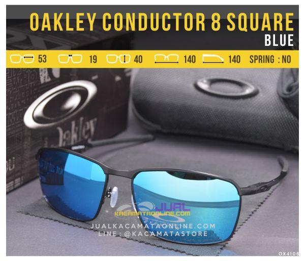 gambar Kacamata Oakley Terbaru Conductor 8 Square Blue