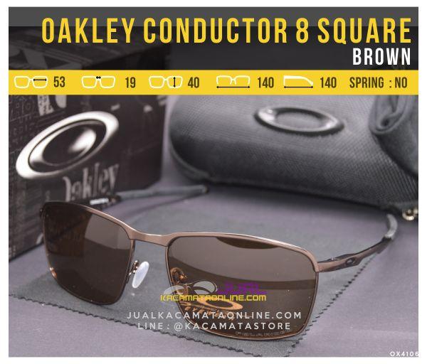 Jual Kacamata Oakley Terbaru Conductor 8 Square Brown