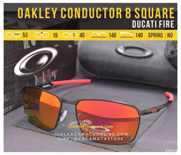 Grosir Kacamata Oakley Terbaru Conductor 8 Square Ducati Fire