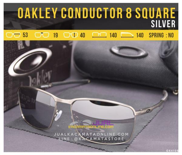 Gambar Kacamata Oakley Terbaru Conductor 8 Square Silver