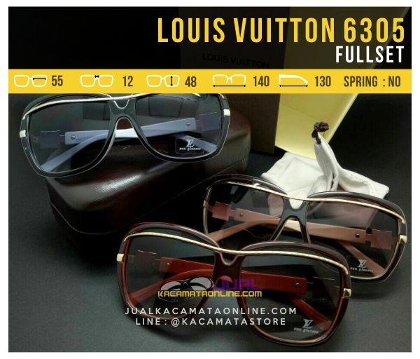 Harga Kacamata Cewek Terbaru Louis Vuitton 6305 Fullset
