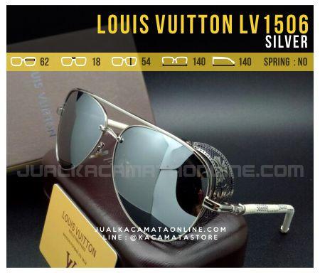 Jual Kacamata Terbaru Louis Vuitton LV1506 Silver