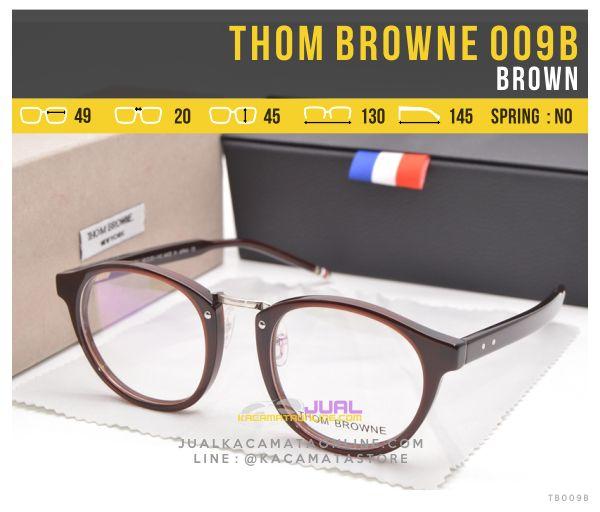 Jual Frame Kacamata Murah Thom Browne 009B Brown