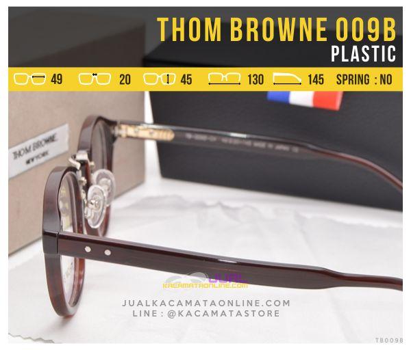 Jual Frame Kacamata Murah Thom Browne 009B Plastik