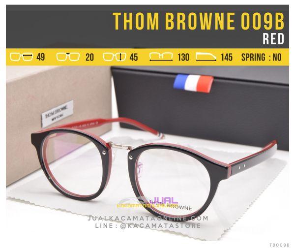 Harga Frame Kacamata Murah Thom Browne 009B Red