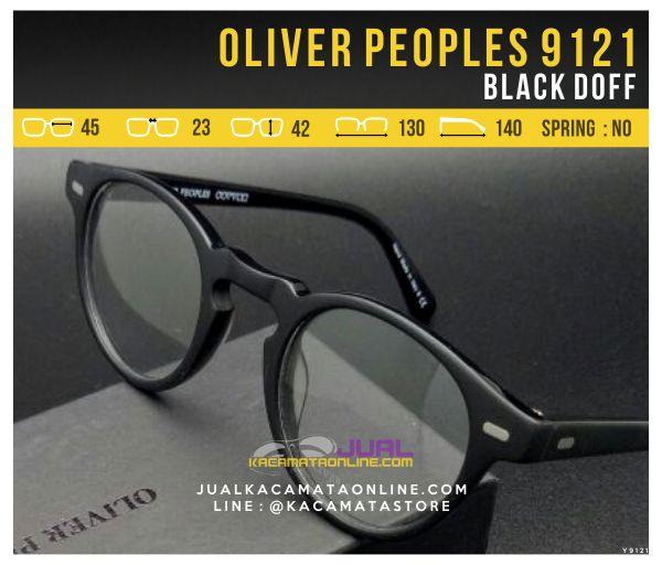 Harga Frame Kacamata Optik Oliver Peoples 9121 Black Doff