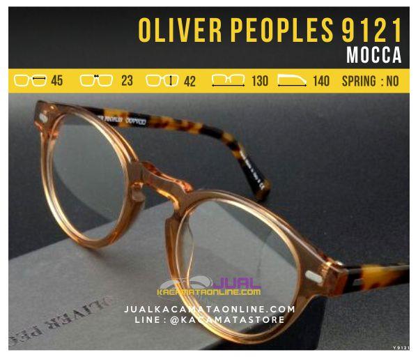 Jual Frame Kacamata Optik Oliver Peoples 9121 Mocca