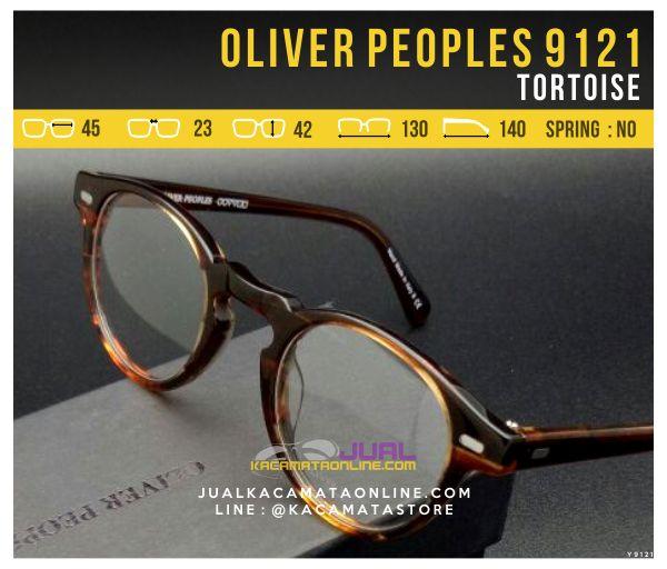 Gambar Frame Kacamata Optik Oliver Peoples 9121 Tortoise