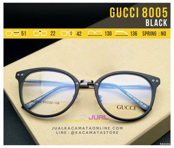 Gambar Frame Kacamata Wanita Gucci 8005 Black