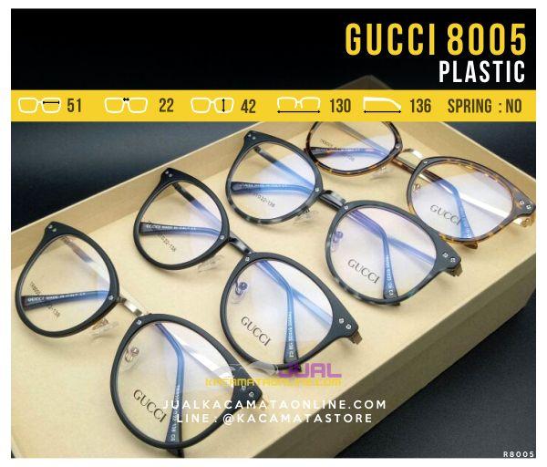 Jual Frame Kacamata Wanita Gucci 8005 Terbaru