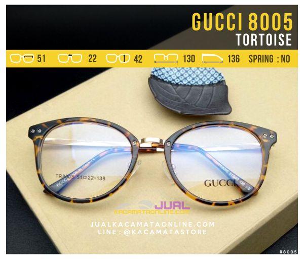 Jual Frame Kacamata Wanita Gucci 8005 Tortoise