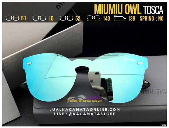 Gambar Kacamata Cewek MiuMiu Owl Tosca