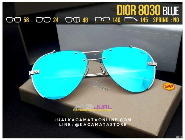 Trend Kacamata Cewek Terbaru 2017 Dior 8030 Blue