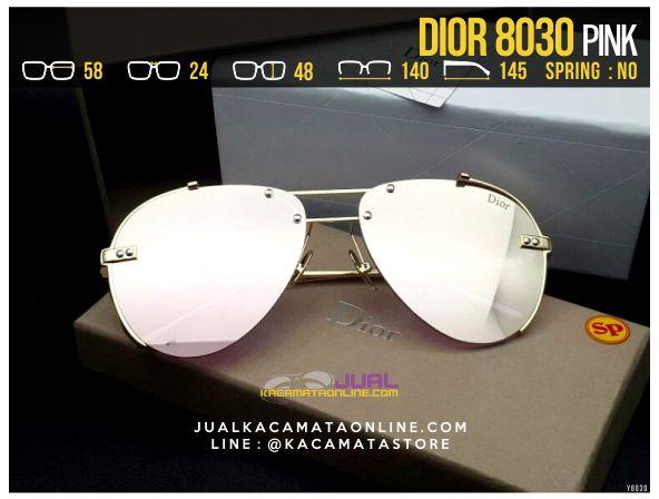 Jual Kacamata Cewek Terbaru 2017 Dior 8030 Pink