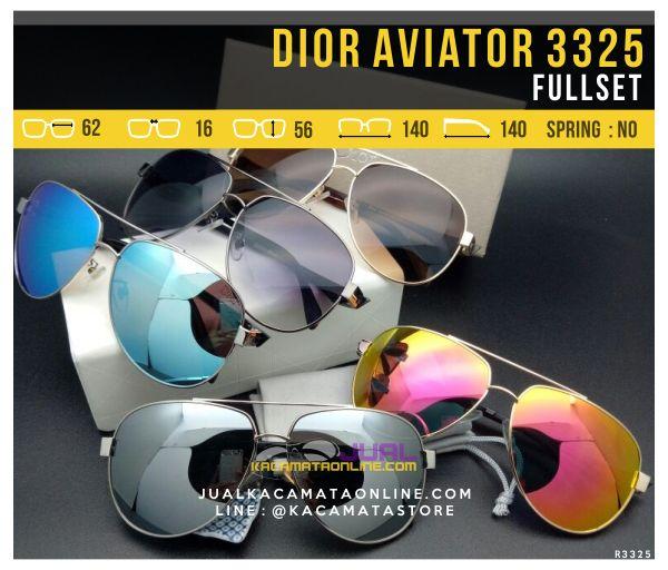Jual Kacamata Dior Aviator 3325 Terbaru