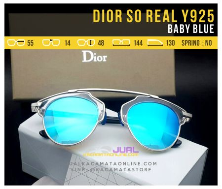 Grosir Kacamata Dior So Real Baby Blue