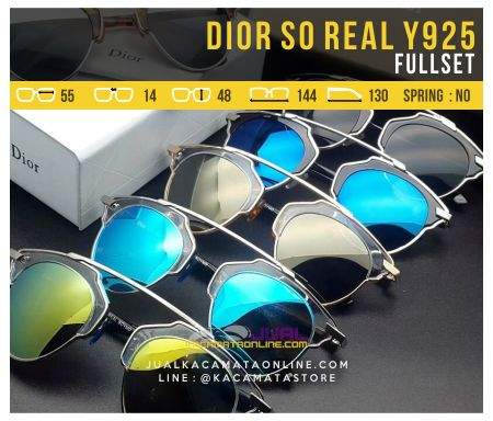 Jual Kacamata Dior So Real Fullset