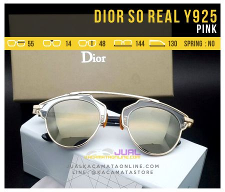 Jual Kacamata Dior So Real Pink