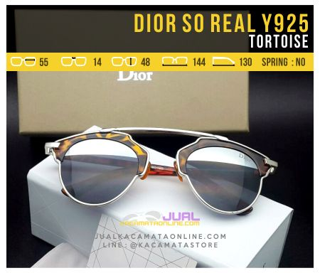 Jual Kacamata Dior So Real Tortoise