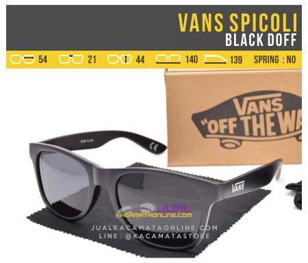harga Kacamata Gaya Vans Spicoli Black Doff